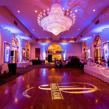 Wedding Uplighting, Bond Ballroom (Hartford, CT)